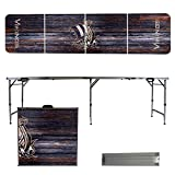 NCAA Western Washington University Vikings Weathered Version Folding Tailgate Table, 8'