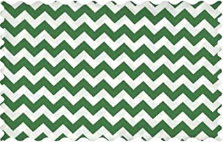 product image for SheetWorld Forest Green Chevron Zigzag Fabric - By The Yard