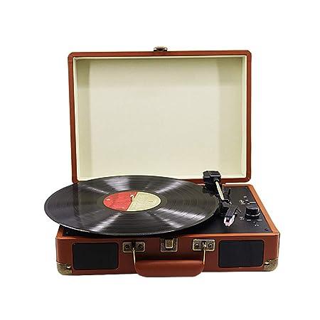 GWX Tocadiscos, Retro del Vinilo del gramófono, apoya 3 ...