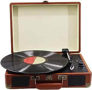 GWX Tocadiscos, Retro del Vinilo del gramófono, apoya 3 Tipos de ...