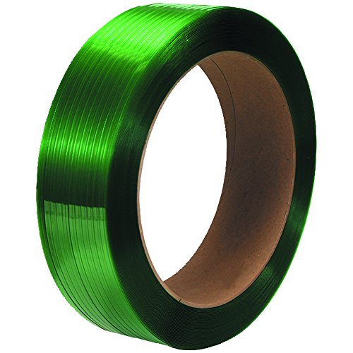 Tape Logic TLPS5835G Polyester Strapping, Smooth, 16