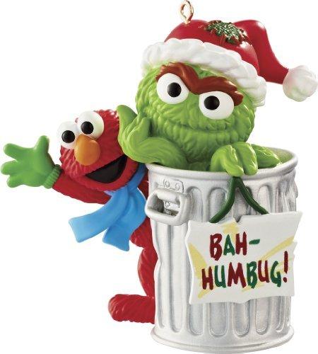 - Carlton Heirloom Ornament 2013 Elmo and Oscar the Grouch - #CXOR053D