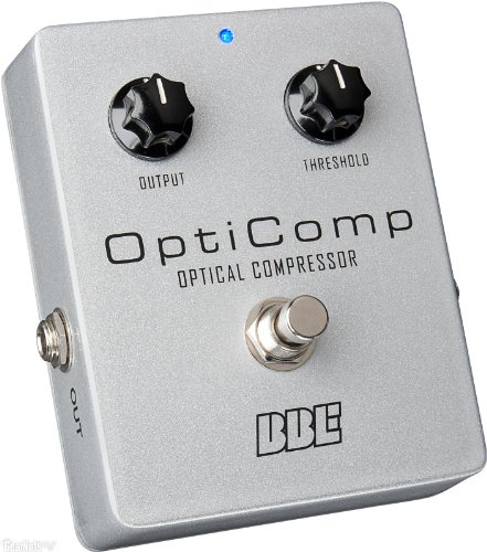 BBE OptiComp Optical Compressor Guitar and Bass Pedal by BBE Sound