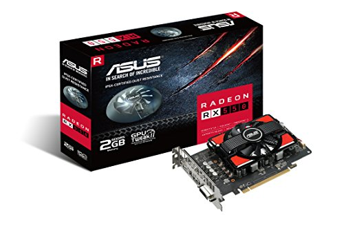 ASUS Radeon 2GB GDDR5 Graphics-Cards RX 550 by Asus