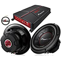 Pioneer GM-A5702 Amplifier with (2) TS-W256R 10 Subwoofers with a FREE SOTS Air Freshener