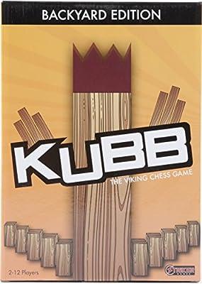 Kubb Set - Award Winning Outdoor Lawn Game - Party/Backyard Game Set