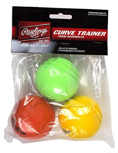 Curve Training Baseball (Rawlings  Curve Ball Hit Training Set (Pack of 6))