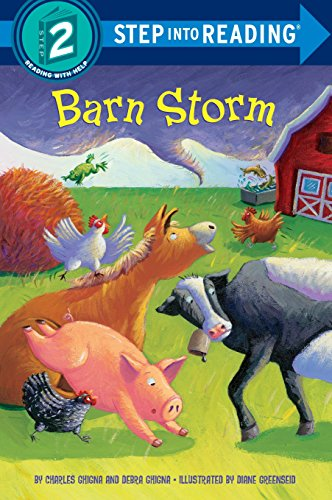 Barn Storm (Step into Reading) (Big Farm Barn)