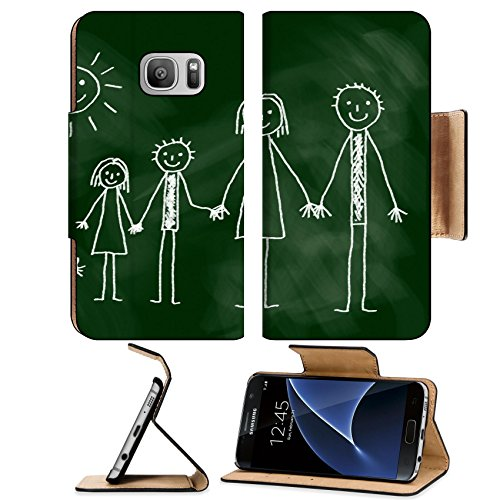 msd-premium-samsung-galaxy-s7-flip-pu-leather-wallet-case-image-12219999-drawing-of-family