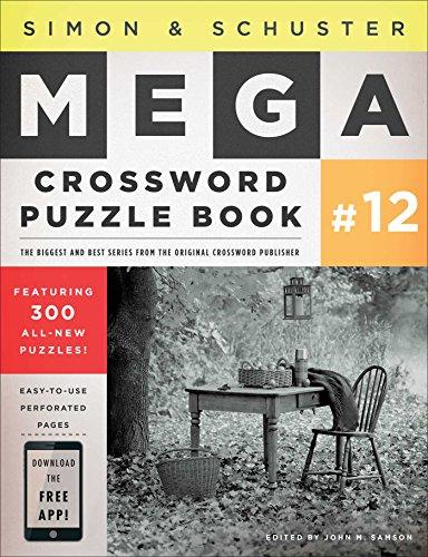 Simon   Schuster Mega Crossword Puzzle Book  12