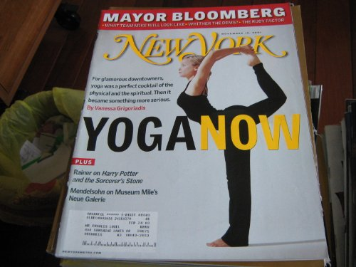 New York Magazine (YOGA NOW , Mayor Bloomberg , Team Mike , The Rudy Factor)