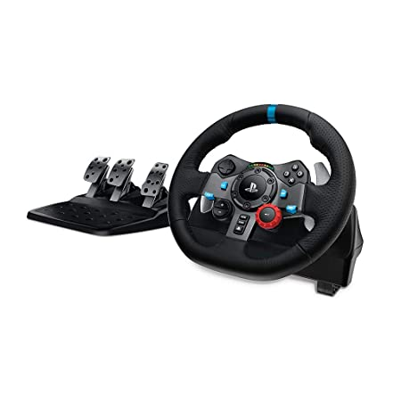 Logitech G29 Driving Force Racing Wheel and Pedals (PS4/PS3 and PC) UK-Plug-Best-Popular-Product