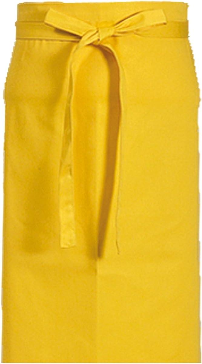 ca knielang KOKOTT Vorbinder ca 60x80 cm Vorstecker Sch/ürze verschiedene Farben