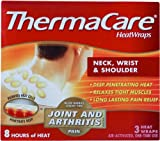 ThermaCare Neck / Shoulder Heatwraps Odorless (3 / Bx) 12 Box Per Case by Milliken Medical - MS80385