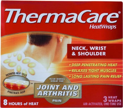 ThermaCare Neck / Shoulder Heatwraps Odorless (3 / Bx) 12 Box Per Case by Milliken Medical - MS80385 by ThermaCare