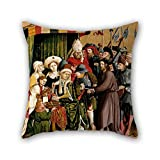 Best Plaid Home Collection Bird Houses - Pillow Cases Of Oil Painting Hans Multscher Review