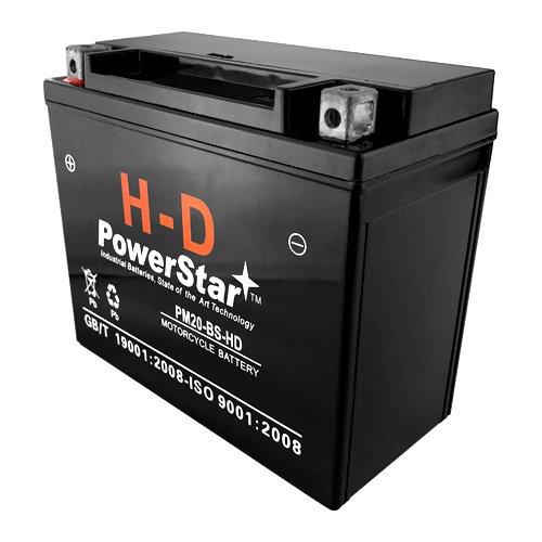 PowerStar HD YTX20-BS for Harley Sportster XL XLH FX FXR FLST Softail 883 1200