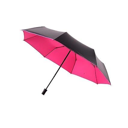 nouveaux styles 42551 75df8 bpblgf Parapluie Transparent Pliant en Plastique Noir ...