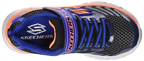 Skechers Rive, Zapatillas de Deporte para Niños Negro (Bbor)