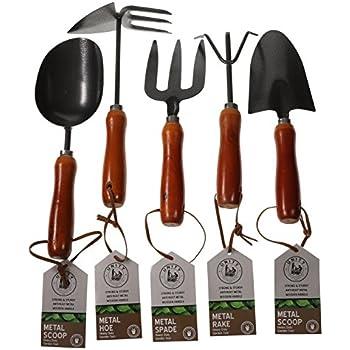 Amazon.com: Unity 5 piezas Premium Heavy Duty Jardín ...