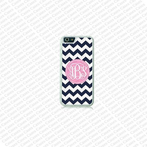 Krezy Case Chevron Monogram iPhone 6 Plus Case, Monogram iPhone 6 Plus Cover, Custom iPhone 6 5.5 inch Cases,...