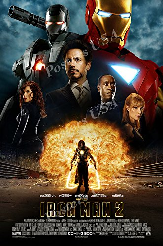 Posters USA Marvel Iron Man 2 Movie Poster GLOSSY FINISH - F