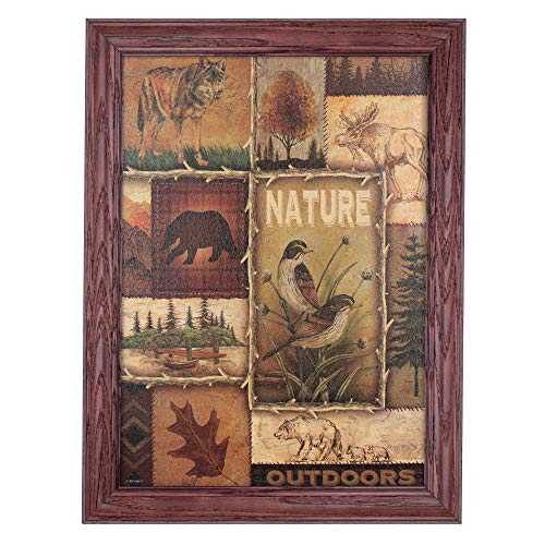 - Northern Framed Fine Art - Nature Lodge Collage by Ed Wargo - 12