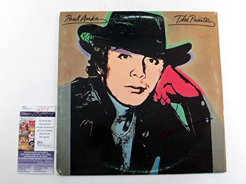 paul-anka-signed-lp-record-album-the-painter-w-jsa-auto