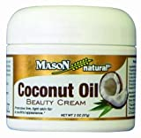 Mason Natural, Coconut Oil Beauty Cream, 2 Ounce, Provides Temporary Relief from Dry Skin, Supports Healing, Leaves Skin Looking Smooth, Soft and Healthy