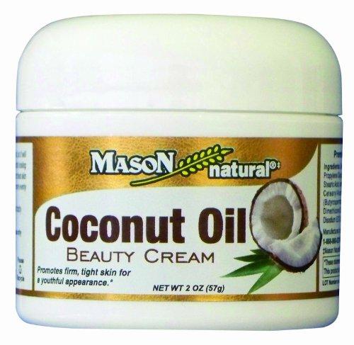MAÇON de crème de beauté naturelle huile de coco, 2 once (Pack de 2)