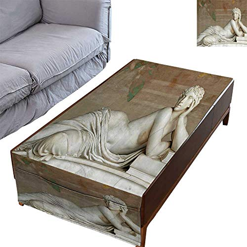 Pisa Coffee Table - DESPKON-HOME Durable Table Cloths Table Cover for Dinner Coffee Pisa Campo Santo Italian Mathematician Physicist and Astromer Immortalized in Marble 23.6