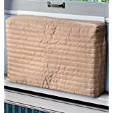 "Laminet Cover Indoor Air Conditioner Cover (Beige) (Medium - 15 -17""H x 22 -25""W x 2""D)"