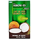 Aroy-D 100% Coconut Milk - 33.8 oz packages (6-pack)