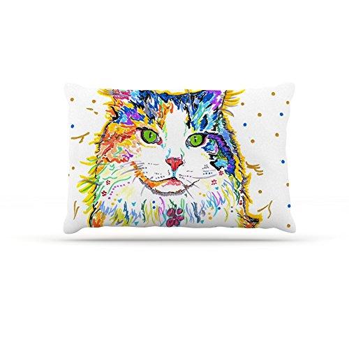 Kess InHouse Rebecca Fischer ''Royal'' Rainbow Cat Dog Bed