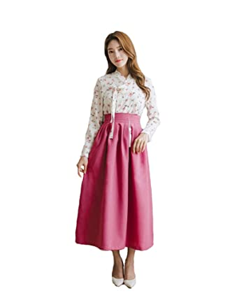 3842d057d Amazon.com: Sassy Pippi Korean Modernized Traditional Costume Modern Hanbok:  Clothing
