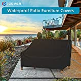 iCOVER Patio Loveseat Sofa Cover, Waterproof