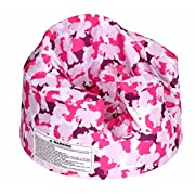 Bumbo Baby Support Floor Seat Cover - Pink Camouflage