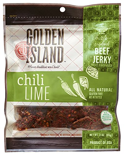 Golden Island Chili Lime Jerky