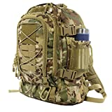 Tactical Backpack - 40L Outdoor Expandable Tactical Backpack Military Sport Camping Hiking Trekking Bag ( 08001 Multicam)