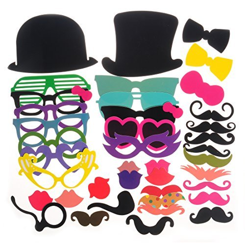 40pcs Photo Booth Props for Party Favor (Party Supplies)