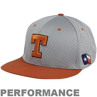 10318403ab7 Nike Texas Longhorns Gray-Burnt Orange Authentic Baseball Mesh Fitted  Performance Hat (7 7 8)  Amazon.co.uk  Clothing
