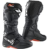 TCX 9671 Mens X-Helium Michelin Off-Road Motorcycle Boots - Black Size Eu 45 / Us 11