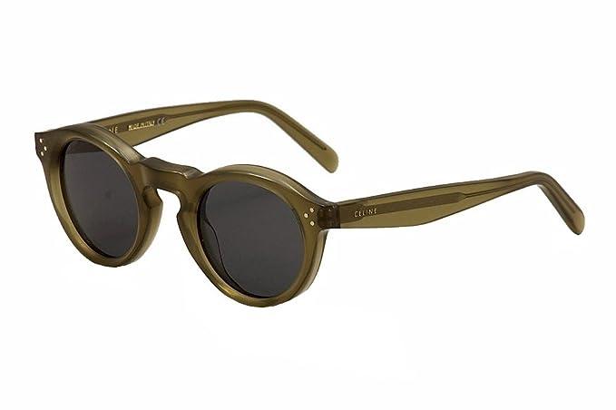 f72a1fcbe1e Sunglasses Celine 41370  S 0QP4 Light R Green   BN dark gray lens ...