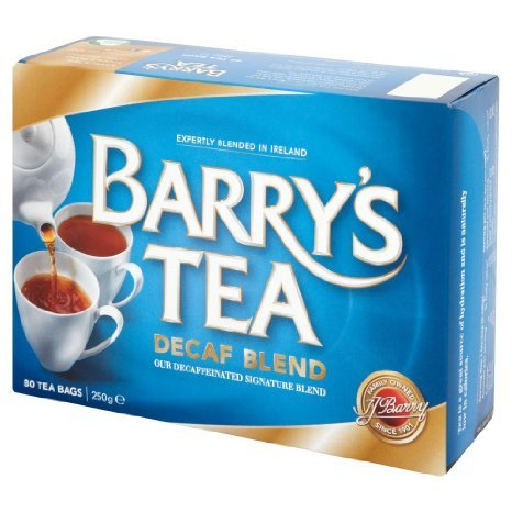 Barrys Decaf Tea 80 Bags (Pack of 2). by Barry's Tea
