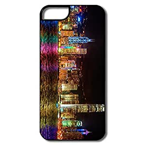 Personalized Custom Covers Geek Symphony Lights Hong Kong For IPhone 5/5s