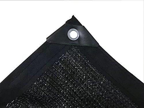 HomeABC Shade Cloth Sunblock Mesh 50/% UV Resistant Net For Garden Flower Plant Pond Garage,6.5ft x 10ft,Black