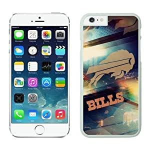 NFL iPhone 6 Plus 5.5 Inches Case Buffalo Bills White iPhone 6 Plus Cell Phone Case ONXTWKHB0581