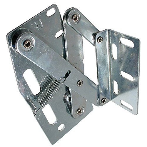 Richelieu Hardware - BP10702032G - Pack of 2 units - Tip-Out Tray Hinges - Zinc  - Cabinet Richelieu Hinges