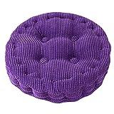 Quality Comfort Soft Chair Cushion Seat Pad Seat Cushion Pillow, Purple/Circle