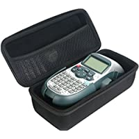 Khanka Hard Travel Bag For DYMO LetraTag LT-100H Plus Handheld Label Maker